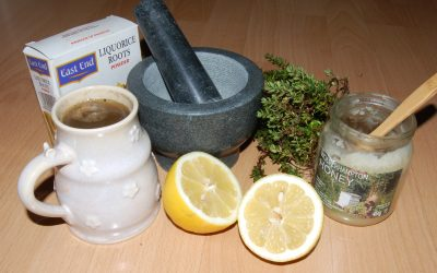 Anyone for a natural cough remedy???